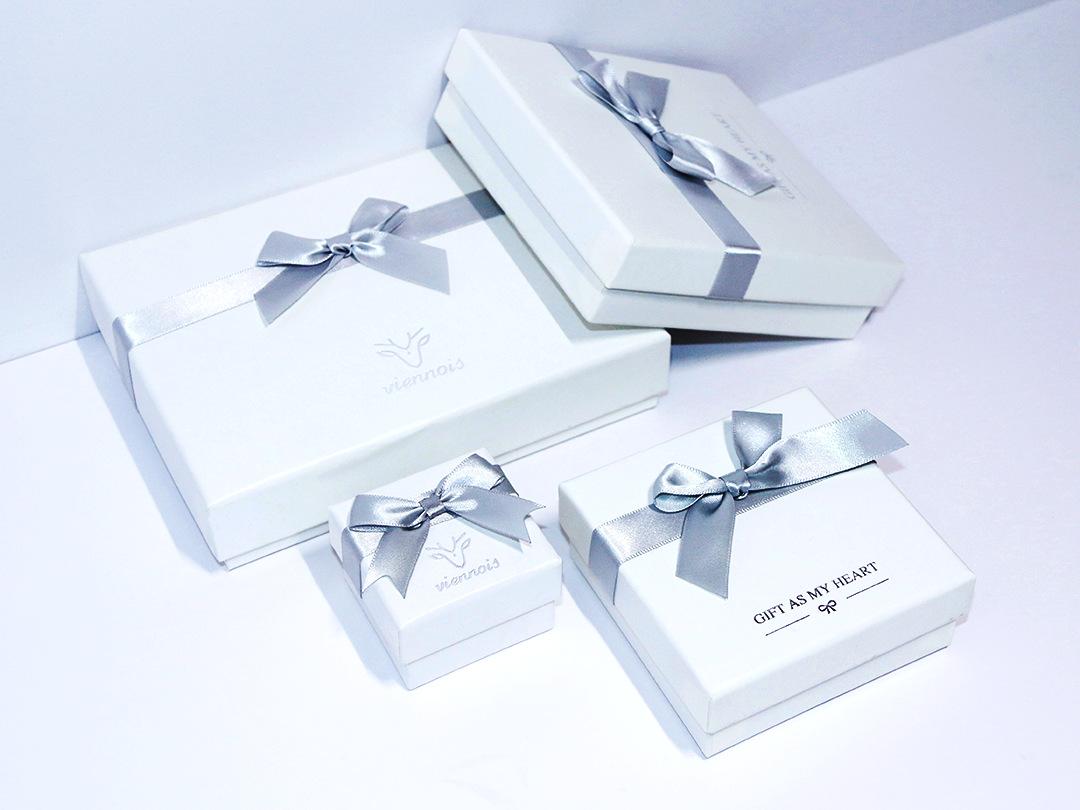 ZISIZ Hộp giấy Nhà sản xuất tùy chỉnh carton đồ trang sức hộp nhẫn nơ nơ bông tai mặt dây chuyền hộp