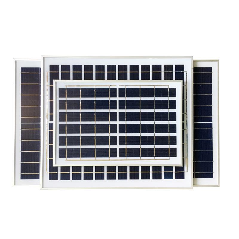 Bảng điều khiển năng lượng mặt trời 6w10w30w có thể sạc pin quang điện lắp ráp bảng điều khiển đèn đ