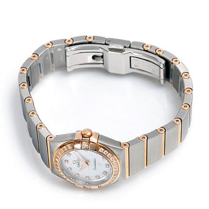 Đồng hồ thông minh  OMEGA Đồng hồ Omega OMEGA Đồng hồ đeo tay thời trang kim cương dát kim cương Anh