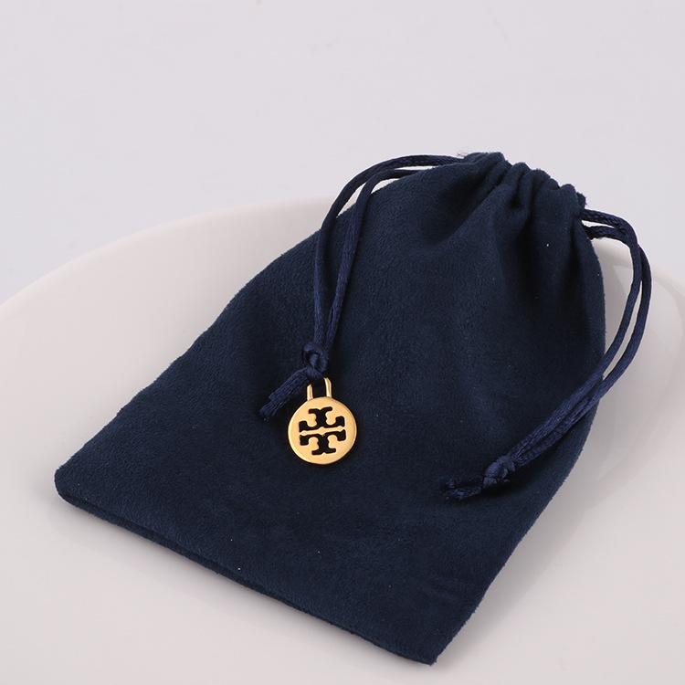 MSJJ Túi đựng đồ trang sức châu Âu và túi nhỏ túi nhung gói túi quà tặng mực xanh