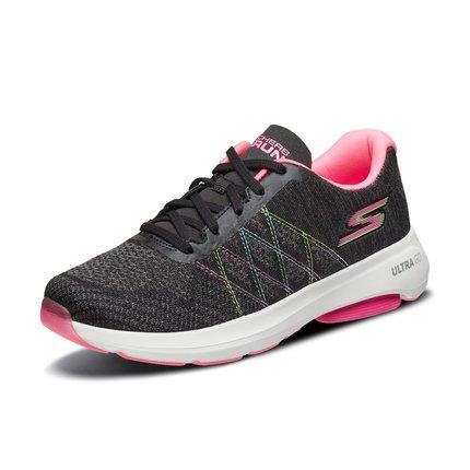 Giày nữ trào lưu Hot  Skechers Skechers 2019 mới đệm nhẹ giày chạy ổn định dây đeo giày thể thao nữ