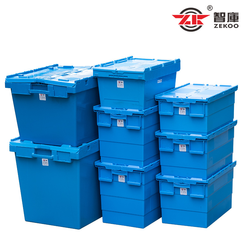 ZEKOO Thùng nhựa Hộp nghiêng hậu cần chèn dày với bộ vỏ hộp thực phẩm nhựa doanh thu hộp thuốc kinh