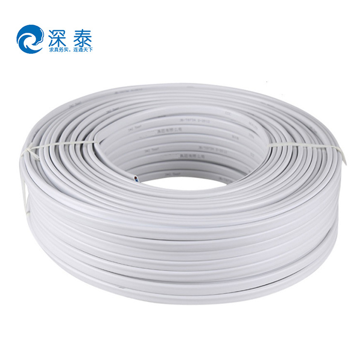dây điện SYWV 75-5 (AL 96P) dây chống thấm bọt GB lõi đồng dây cáp vỏ bọc PVC thân thiện