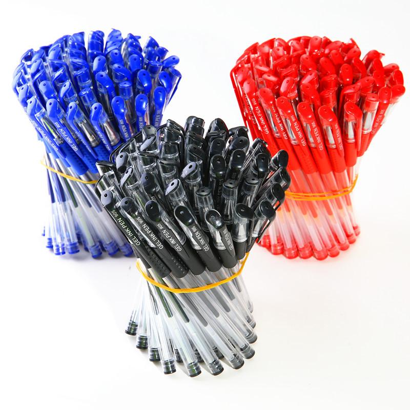 JUDIAN Bút nước Bút bi gel 0,5MM nước màu đen bút văn phòng phẩm văn phòng bút carbon bút ký bút số