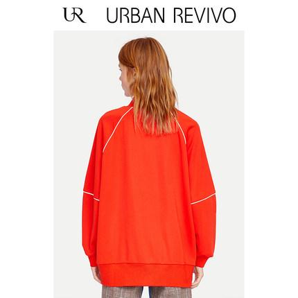 Áo khoác lửng UR Áo mới dành cho nữ thanh niên thể thao UR2019 áo gió dài cổ áo YV07S1LN2000