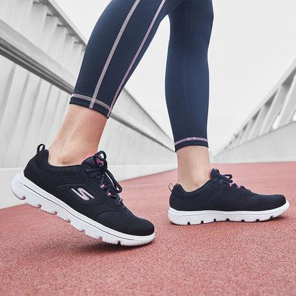 Giày nữ trào lưu Hot  Skechers Giày nữ mới Giày quai thời trang Giày đi bộ thoải mái đệm giày thể th