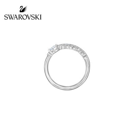 đồ trang trí trang phục Swarovski [Mới] Nhẫn nữ lông vũ thanh lịch Swarovski NICE gửi tặng bạn gái m