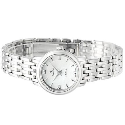 Đồng hồ thông minh  OMEGA Omega (OMEGA) đồng hồ đĩa bay loạt đồng hồ nữ thạch anh 424.10.24.60.05.00