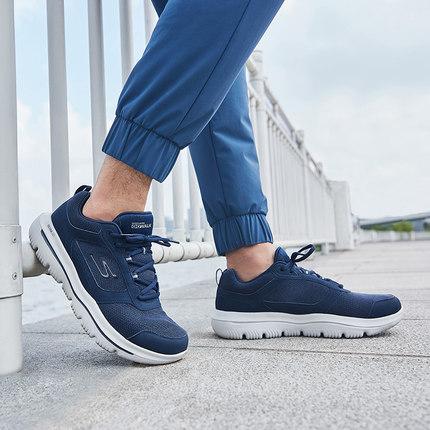 thị trường giày nam Skechers Skechers 2019 quai mới đi giày thoải mái đệm giày thể thao nam 54733