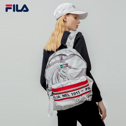 thị trường túi - Vali  FILA Ba lô ba lô chính thức của FILA Fila 2019 Mùa thu mới Ba lô nam và nữ
