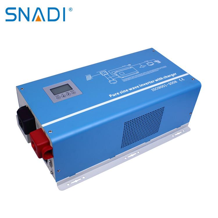 Biến tần năng lượng mặt trời băng tần điều chỉnh điện áp đầu ra sóng sin tinh khiết 4000W-6000W