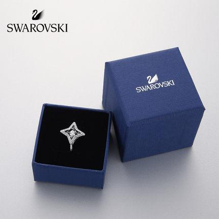 đồ trang trí trang phục Swarovski Swarovski SPARKLING DC nhảy pha lê hình ngôi sao 55,58 yard nhẫn n