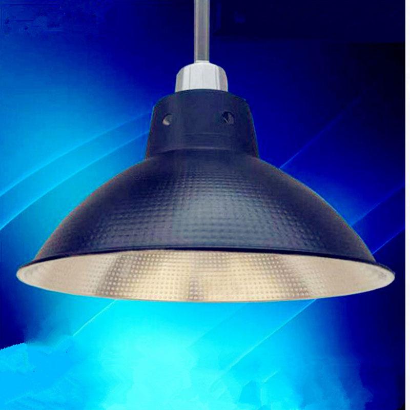 Máng chụp đèn Led công nghiệp ánh sáng bóng đèn nhà máy đèn chùm nhà xưởng ánh sáng nhôm nhà sản xuấ