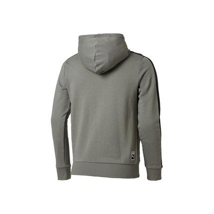 Áo khoác PUMA Hummer chính thức mùa thu và mùa đông nam có mũ trùm đầu áo len cardigan Lưu trữ 57624