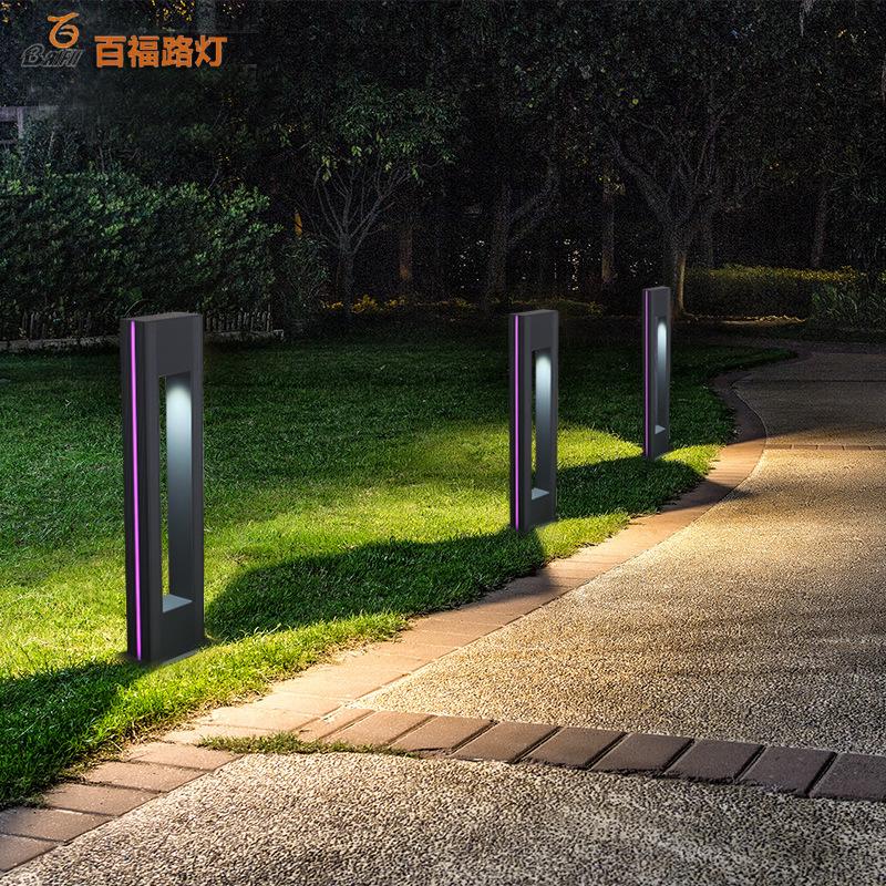 BAIFU Đèn LED thảm cỏ cảnh quan lối đi hiện đại .