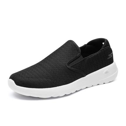 thị trường giày nam Skechers Giày Skechers Giày nam Skechers mới đơn giản Giày đi bộ cắt thấp đơn gi