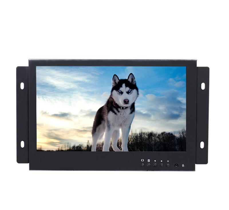Màn hình LCD độ phân giải cao 8 inch VGA AV BNC giao diện thiết bị công nghiệp