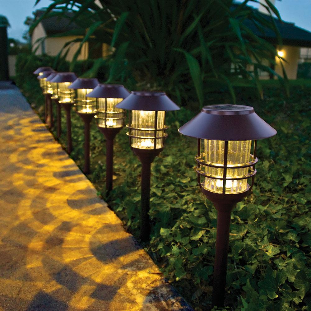 MEIYUANDING Đèn LED thảm cỏ làm đẹp sân vườn thép không gỉ ngoài trời không thấm nước