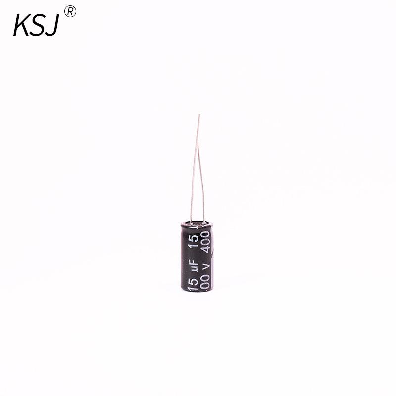 KSJ Tụ hoá Nhà sản xuất tụ điện điện nhôm nhôm 400V15uf chuyên nghiệp