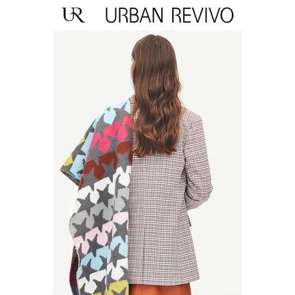 Áo khoác lửng UR2019 thanh niên mới đi phụ nữ đi dạo thành phố phù hợp với kẻ sọc YU01S1CS2000