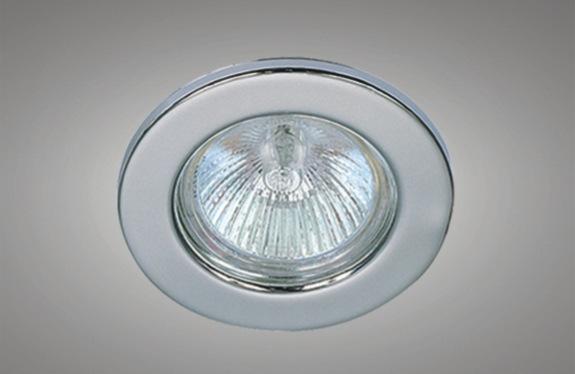 Maylite Đèn âm trần bộ Sắt vát lớn duy nhất tròn trần giữ đèn GU10 MR16 giữ đèn spotlight kit nhà ở