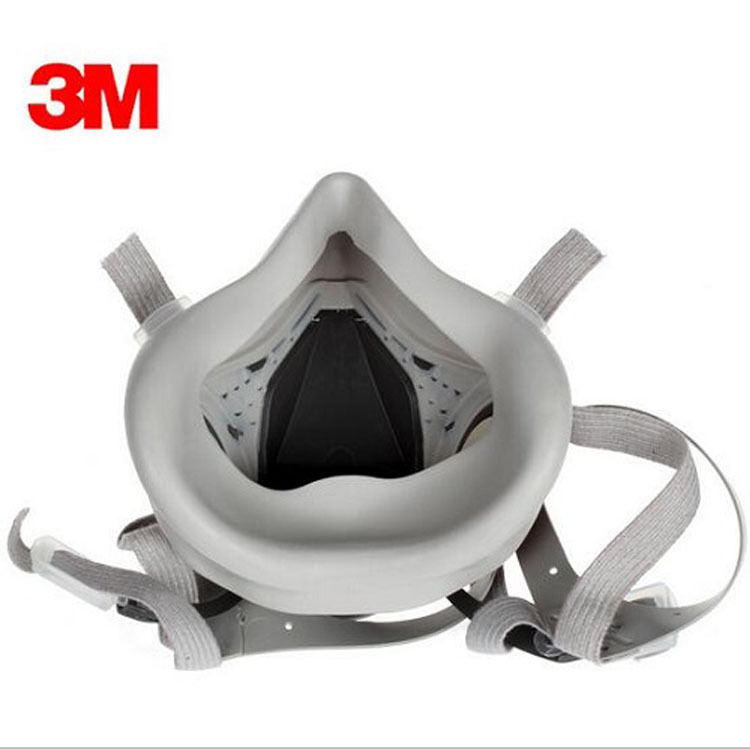 3M Mặt nạ phòng chống khí độc 3M6200 mặt nạ phun sơn trang trí hóa chất lao động bảo vệ mặt nạ bảo v