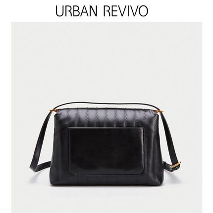 Túi xách nữ thời trang  UR ĐÔ LA REVIVO2019 mùa hè phụ nữ mới phụ kiện xe hơi túi đeo vai AG14SB2S20