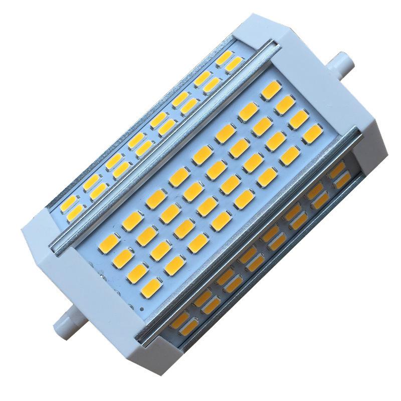Bóng đèn LED bắp ngô Đèn led led R7s 85-265v ce rohs không có quạt hiển thị cao 30W led r7s 118mm