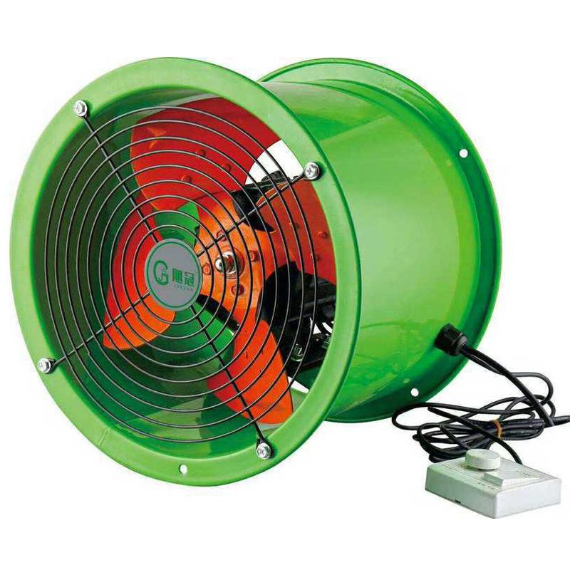 Quạt thông gió Vòng tiếng ồn thấp vĩnh viễn nam châm biến tần tần số quạt hướng trục bếp hút khói đặ
