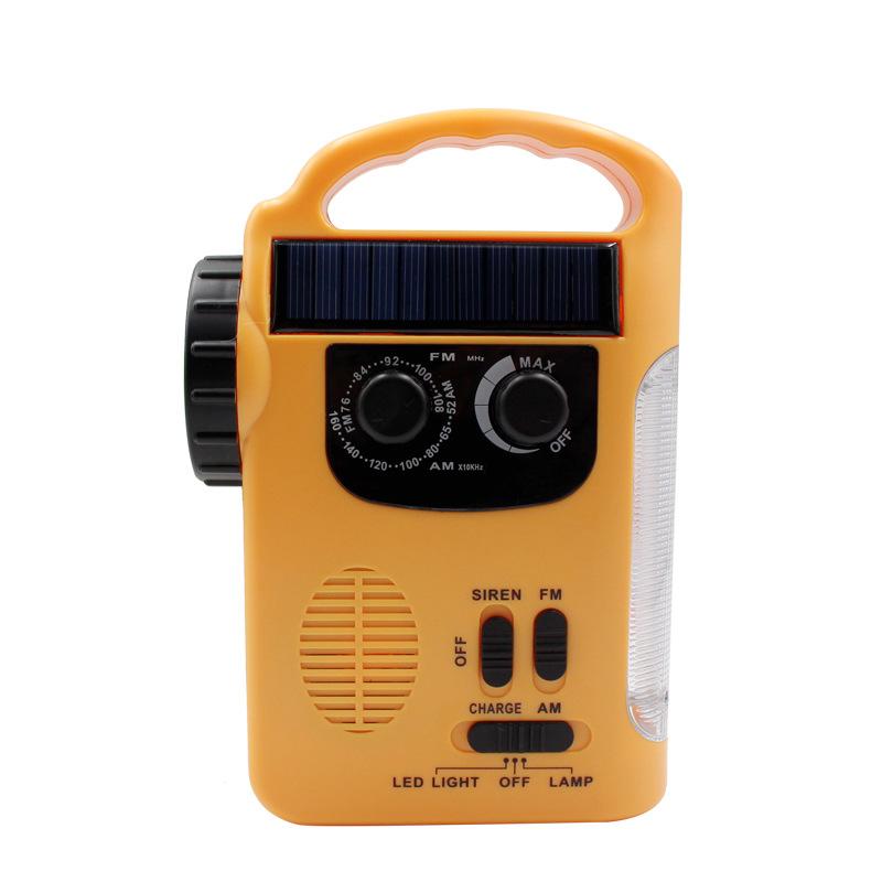 Jasonic Máy Radio Đài phát thanh quay tay năng lượng mặt trời Đa chức năng