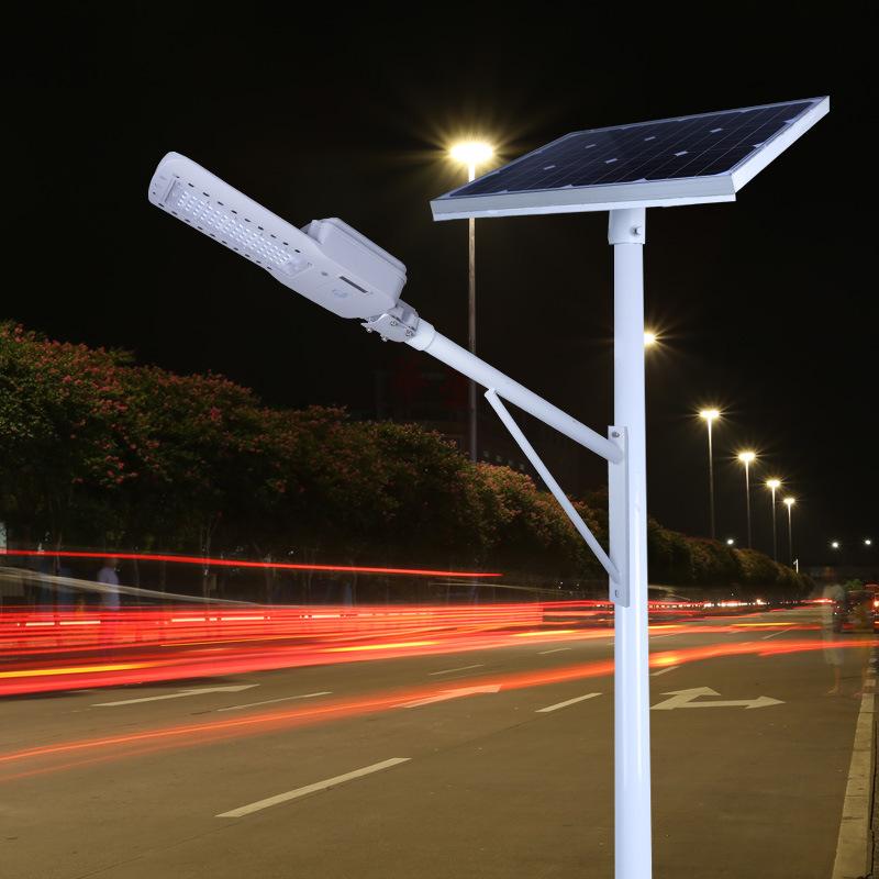 Đèn đường tích hợp năng lượng mặt trời cao 6m , 7m
