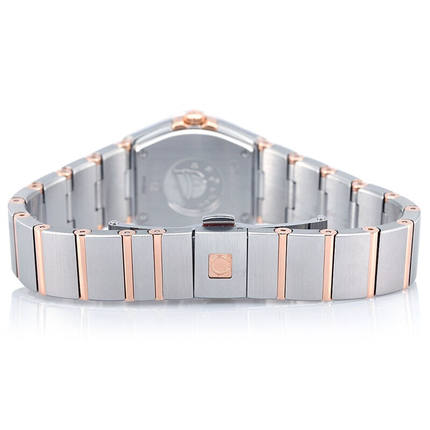 Đồng hồ thông minh  OMEGA Đồng hồ Omega Dòng chòm sao thạch anh Đồng hồ nữ 123.20.24.60.55.001