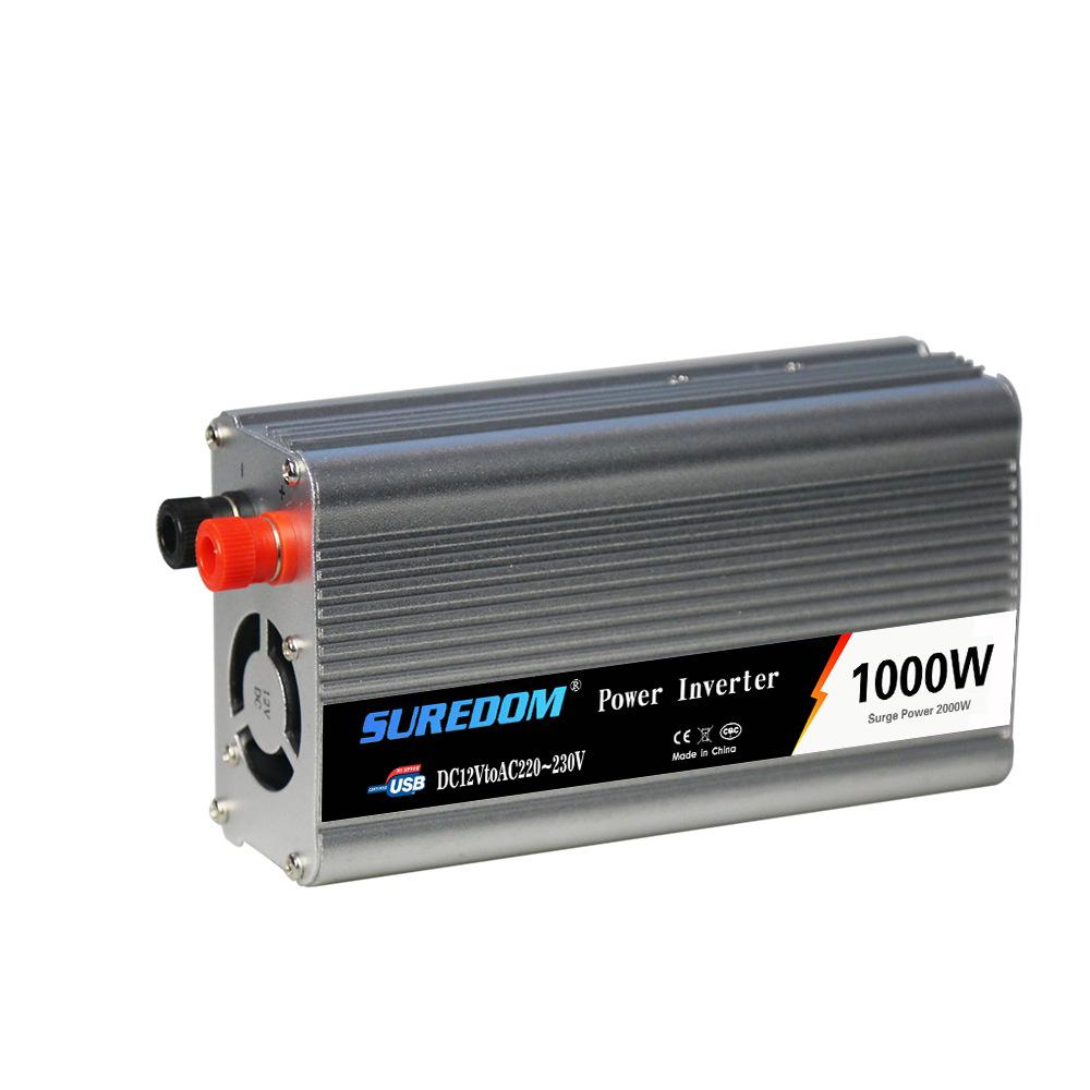 biến tần năng lượng mặt trời biến tần xe usb chuyển đổi năng lượng 1000w