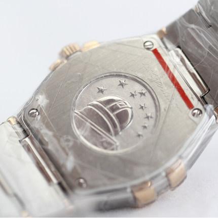 Đồng hồ thông minh  OMEGA Đồng hồ đeo tay nữ dây đeo vàng thạch anh Omega Omega chòm sao Thụy Sĩ 123