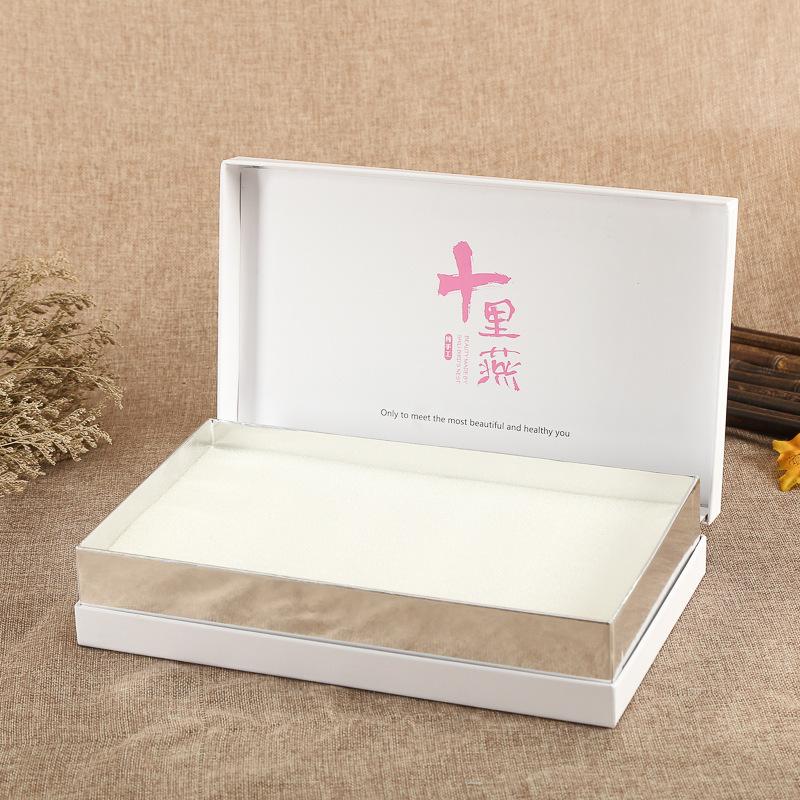 ENSHENG Hộp quà tặng Bao bì hộp quà tặng tùy chỉnh Hộp quà tặng vỏ sò phổ thông cao cấp Hộp thực phẩ
