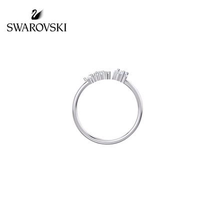 đồ trang trí trang phục Swarovski [Mới] Nhẫn nữ lãng mạn đầy sao Swarovski MOONSUN Gửi bạn gái món q