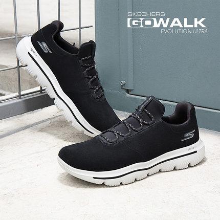 thị trường giày nam  Skechers SKECHER đôi giày nam giày một chân che giày lười đi giày chống lông gi