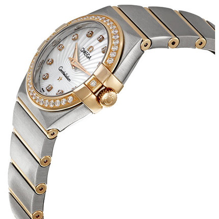 Đồng hồ thông minh  OMEGA Đồng hồ Omega (OMEGA) chòm sao đồng hồ nữ thạch anh 123.25.27.60.55.002