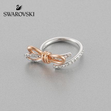 đồ trang trí trang phục Swarovski LIFELONG BOW Bow Element Nhẫn nữ Gửi quà tặng bạn gái