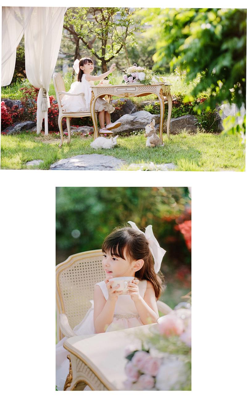 Trang phục dạ hôi trẻ em Cô gái ăn mặc Alice Quần áo Hoa Cưng Cưng Cưng s ản xuất tiệc sinh nhậtCô g