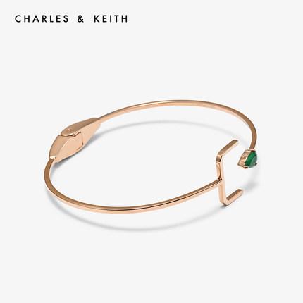 CHARLES & KEITH Vòng đeo tay CHARLES & KEITH CK5-11470031 Vòng đeo tay nữ đá bán quý thời trang