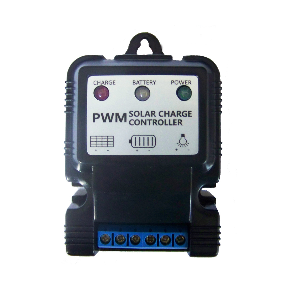 Bộ điều khiển năng lượng mặt trời pin lithium 12 V Bộ sạc quang điện 11.1V10A Bộ điều khiển ánh sáng