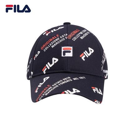 thị trường túi - Vali  FILA Cặp đôi mũ bóng chày chính thức của Fila Fila mùa hè 2019 mới nam và nữ