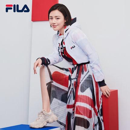 Giày lười / giày mọi đế cao FILA Fila JAGGER móng vuốt móng vuốt Huang Jingyu Ma Sichun với đoạn 201