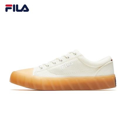 Giày lười / giày mọi đế cao FILA Fila Official Classic KICKS Giày nữ G9 2019 Thu mới Giày trắng