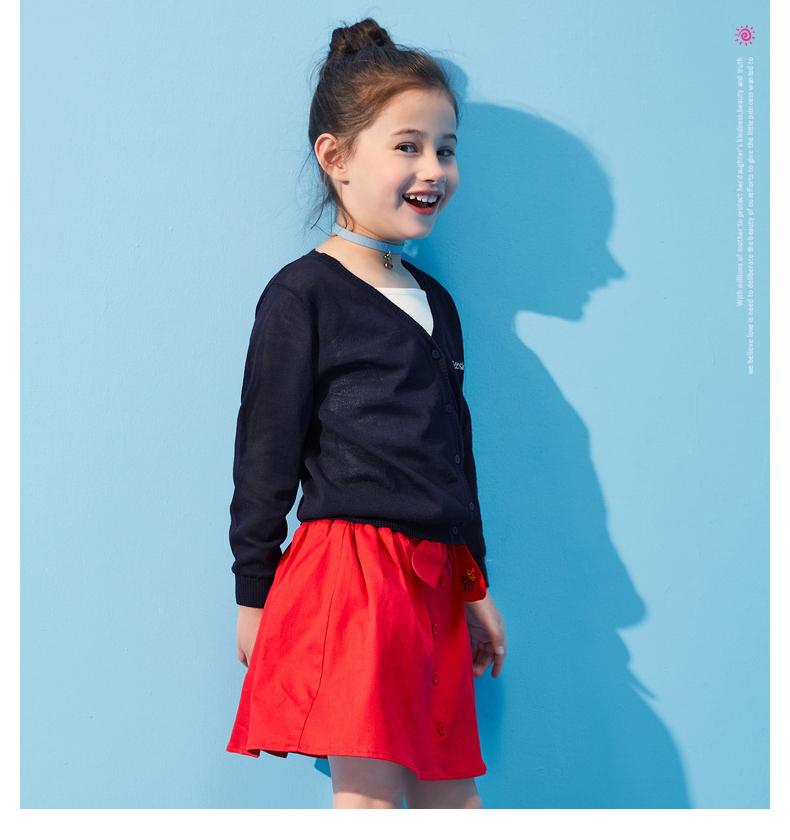 Áo khoác trẻ em Nàng cởi áo thường mùa hè xinh đẹp váy áo hồngp