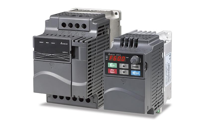 Dòng biến tần Delta chính hãng VFD-E hoàn toàn mới / PLC tích hợp nhỏ / VFD0