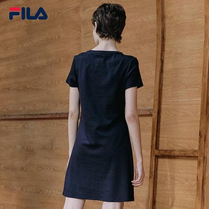 Đầm  FILA Trang phục chính thức của phụ nữ Fila Fila Mùa hè Trang phục thường ngày mới