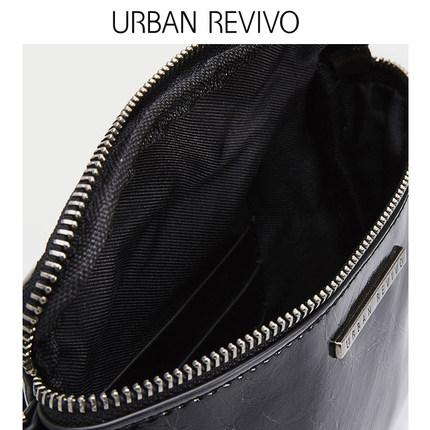 Túi xách nữ thời trang  UR ĐÔ LA REVIVO2019 phụ nữ trẻ trung mới phụ kiện túi đeo chéo da AV08RB4N20