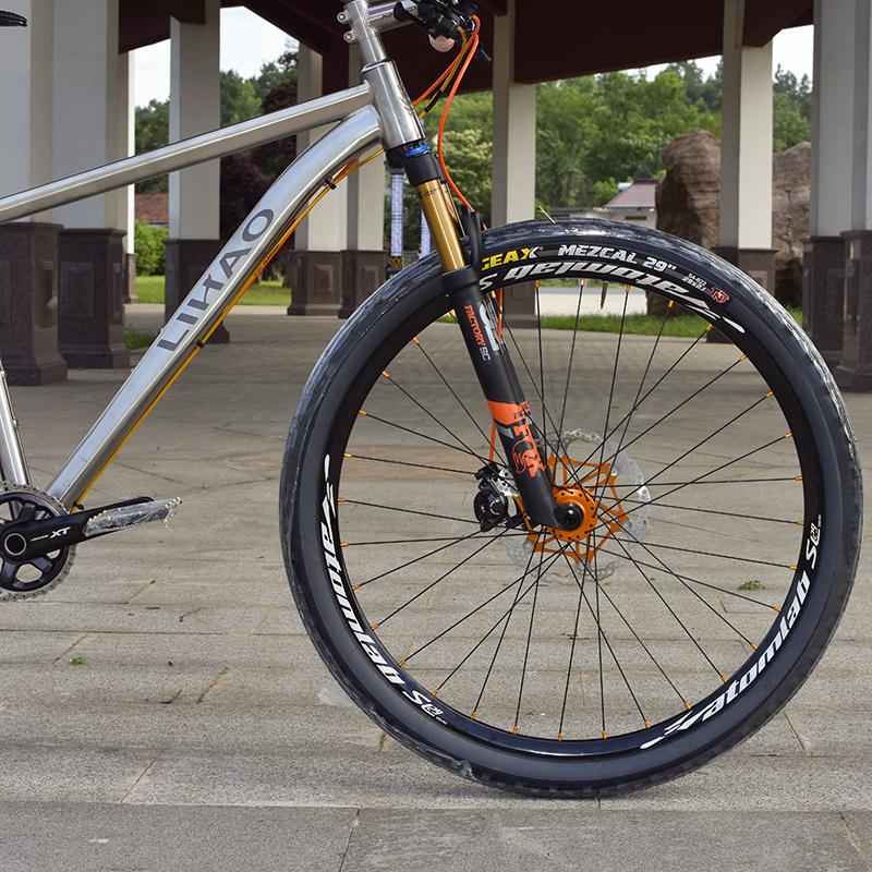 xe đạp New Bay Diyun /DIORN Titanium Alloy Mountain Bicycle 29 -inch Tự chọn